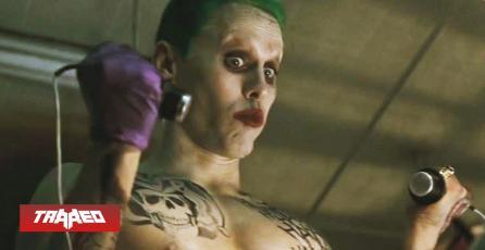 Jared Leto quedó molesto con la nueva película del Joker