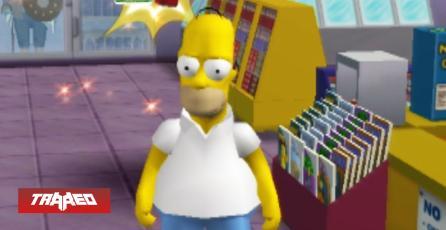Productor de Simpsons Hit and Run anuncia interés en remaster del juego