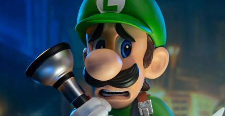 Prepárate para el debut de <em>Luigi's Mansion 3</em> con esta figura de colección