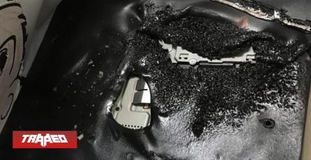 """PlayStation 4 quemada por incendio sigue funcionando incluso """"derretida"""""""