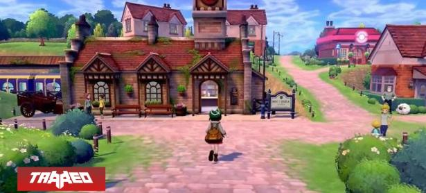 Nuevo gameplay de Pokémon Sword and Shield muestra un pueblo del juego