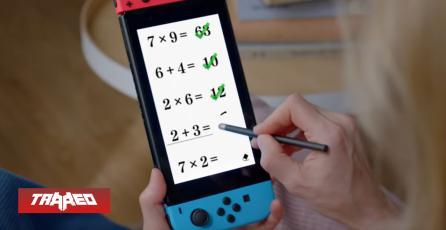 Es gameplay: Switch estrenará juego para estudiar matemáticas y entrenar la mente