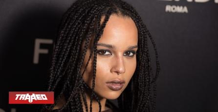 Zoë Kravitz es confirmada para interpretar a Catwoman en The Batman
