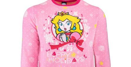 Nintendo se prepara para la época navideña con estos fabulosos suéteres