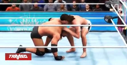 WWE 2K20 filtra gameplay con animaciones de PlayStation 2 se llena de críticas