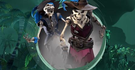 Una amenaza espeluznante te espera en <em>Sea of Thieves</em> para celebrar Halloween