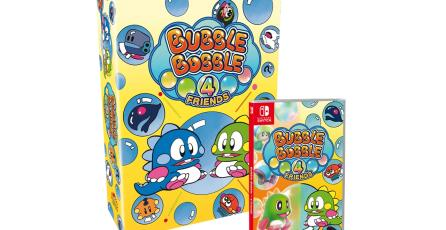<em>Bubble Bobble 4 Friends</em> tendrá diferentes ediciones especiales