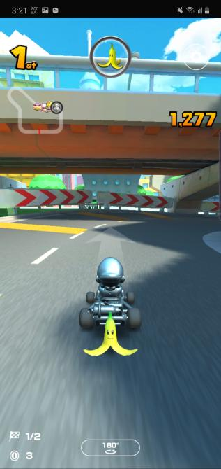 Mario Kart Tour en Note 10+