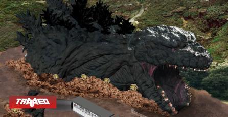 Japón tendrá un Godzilla a escala real en un parque de temático