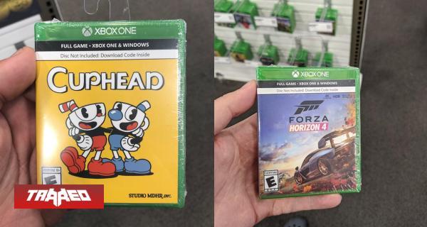 """Aparecen en Estados Unidos las primeras cajas de videojuegos """"solo código"""""""