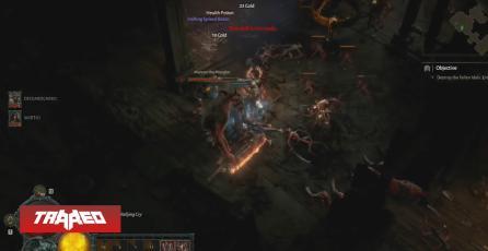 Lanzan nuevo gameplay de 24 minutos de Diablo 4 de la clase bárbaro