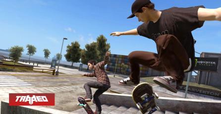 EA no abandonó su marca registrada de los juegos Skate