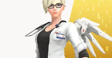 El nuevo diseño de Mercy es una realidad; descubre como conseguirlo en <em>Overwatch</em>