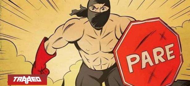 """El cómic de Pareman, junto a su fiel amigo """"Negro Matapacos"""" ya es un éxito en Internet"""