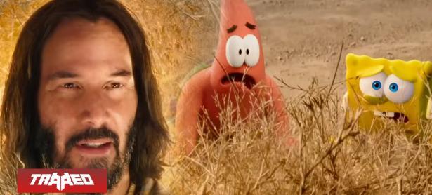 Keanu Reeves caerá a 'Fondo de Bikini' en nueva película de Bob Esponja
