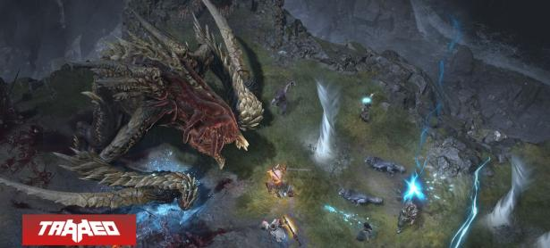 Nuevo gameplay de Diablo IV luce un enorme ''World Boss''