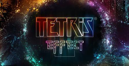 Este alucinante tema dinámico de <em>Tetris Effect</em> para PS4 está disponible gratis