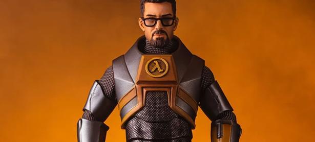 Checa esta increíble figura de Gordon Freeman, protagonista de <em>Half-Life</em>