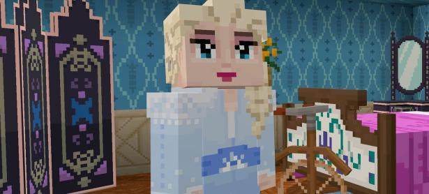 La magia de <em>Frozen II</em> llegó a <em>Minecraft</em> con esta colaboración