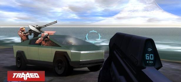 Elon Musk revela que Halo inspiró el Cybertruck en hilarante conversación por Twitter