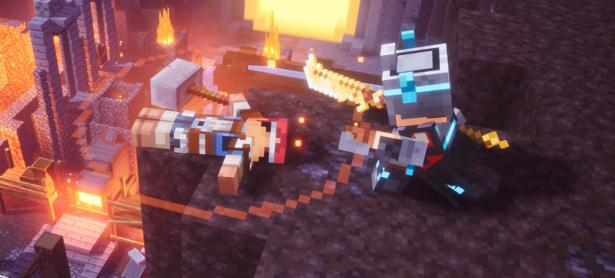 Todos estos peligros te esperan en los mapas de <em>Minecraft: Dungeons</em>