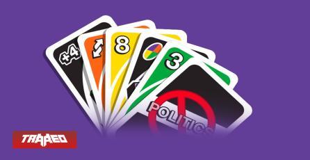 """UNO crea versión sin cartas rojas y azules para sacar a la """"política"""" del juego"""