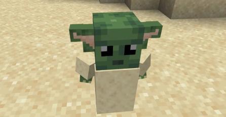 La ternura del bebé Yoda pronto invadirá <em>Minecraft</em>
