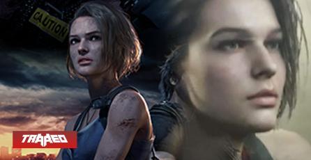Más realistas: Filtran los diseños in-game de Jill y Nemesis en REmake 3