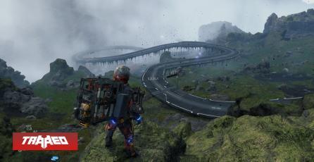 Jugador de Death Stranding construye enorme carretera para su servidor él solo