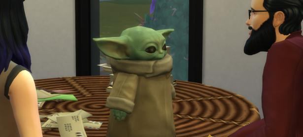 El adorable Baby Yoda se une a <em>The Sims 4</em>; así puedes conseguirlo