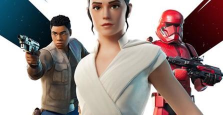 <em>Fortnite</em> se une al festejo por el estreno de <em>SW: The Rise of Skywalker</em>