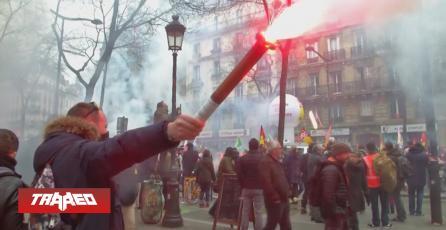 Streamers apoyan las manifestaciones en Francia juntando dinero para los protestantes
