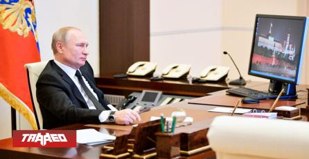 Vladimir Putin, presidente de Rusia, utiliza Windows XP
