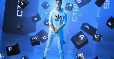 Así lucen los tenis de Adidas y Ninja, streamer de <em>Fortnite: Battle Royale</em>