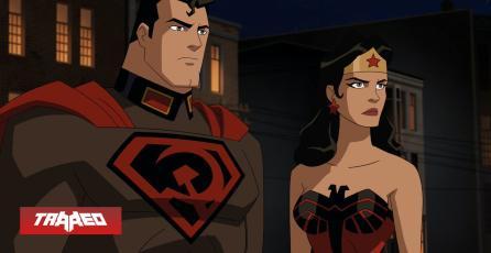 Película animada del Superman Soviético, Red Son, estrena su primer trailer