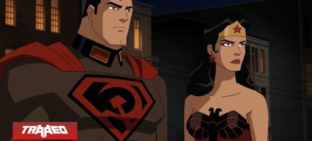 Película animada de Superman: Hilo Rojo estrena su primer trailer
