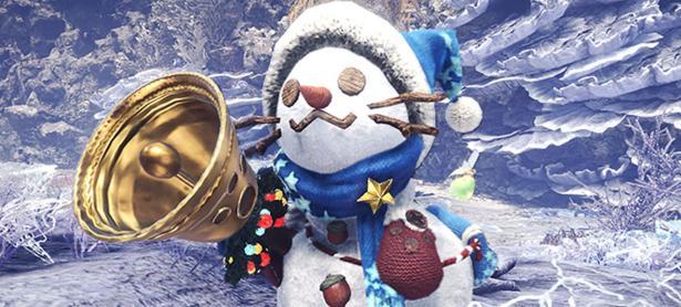 Ya iniciaron las celebraciones navideñas en <em>Monster Hunter World</em>