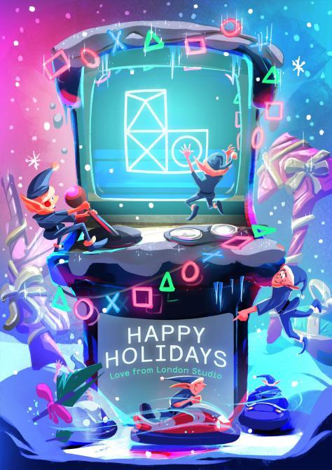 Checa las fabulosas postales navideñas