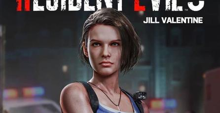 Esta es la bella modelo que dará vida a Jill Valentine en el remake de <em>Resident Evil 3</em>