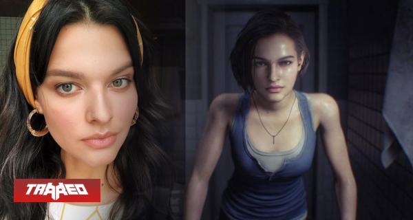 Ella es la modelo elegida para ser Jill Valentine en Resident Evil 3 Remake