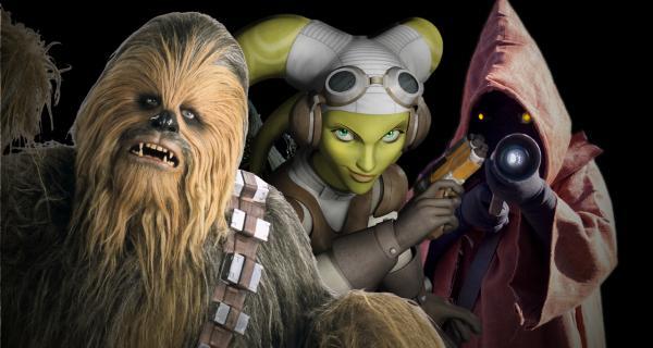Bestias y criaturas increíbles del universo cinematográfico de <em>Star Wars </em>