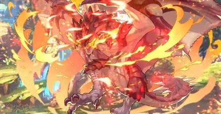 El letal Rathalos de <em>Monster Hunter</em> estará en <em>Dragalia Lost</em>