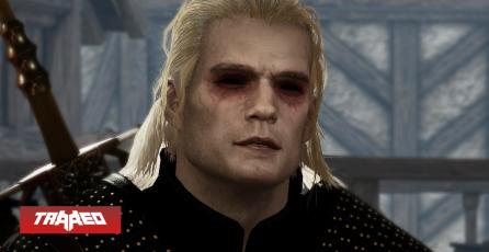 The Witcher 3 ya se puede jugar con Henry Cavill como Geralt