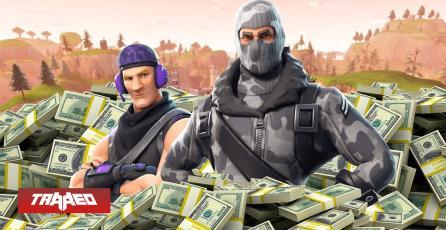 Fortnite es el título que más dinero genera en la industria de la videojuegos
