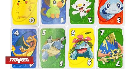 UNO estrenará cartas temáticas de Pokémon Sword and Shield