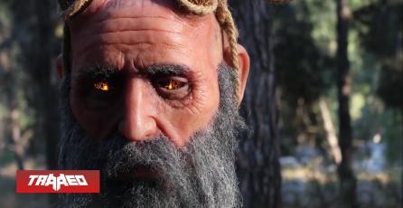 Estudio recrea en la vida real a Mimir de God of War