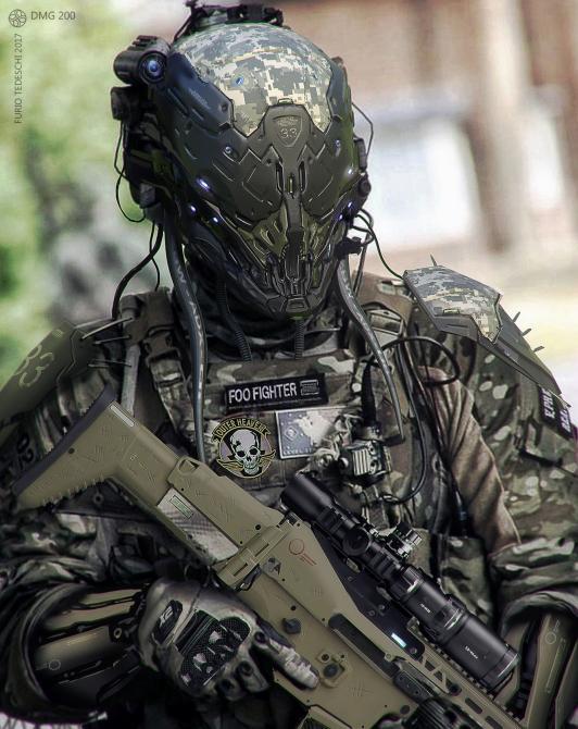 Así de genial se ve la combinación entre <em>Metal Gear</em> y la estética cyberpunk
