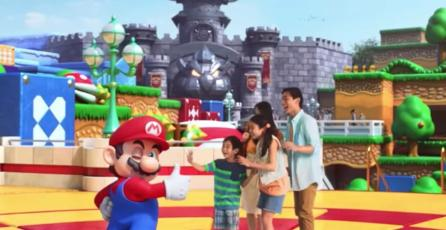 Super Nintendo World se presenta oficialmente con un video musical