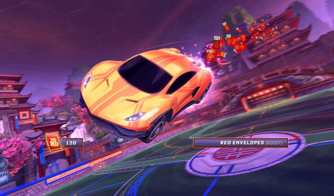 Estos son los objetos de Lucky Lanterns, el nuevo evento de<em> Rocket League</em>