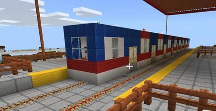Usuario termina construcción de la línea 3 del metro de Monterrey en <em>Minecraft</em>